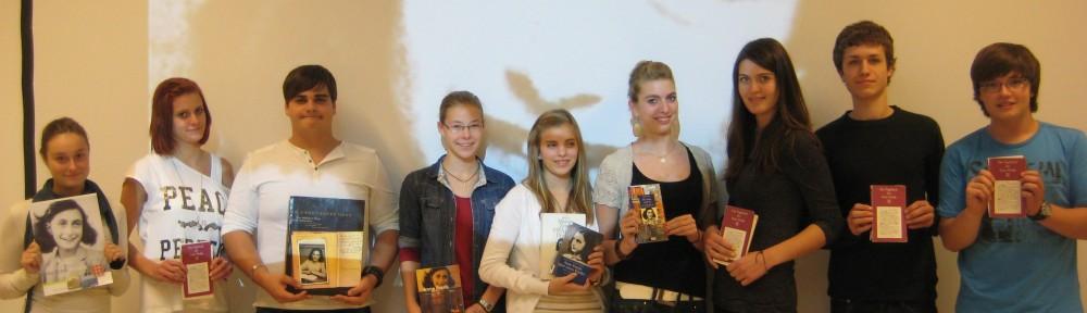 Die Schüler der Anne Frank AG